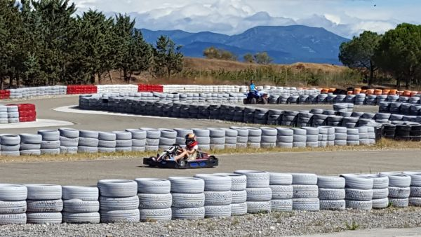 colonie de vacances karting